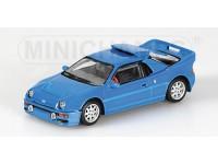 MODELLINO FORD RS 200 1986 BLU IN METALLO MINICHAMPS