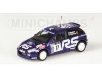 MODELLINO FORD FOCUS RS WRC HIGGINS THOMAS RAC 2001 IN METALLO MINICHAMPS