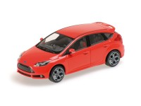 MODELLINO FORD FOCUS ST 2011 ROSSA IN METALLO MINICHAMPS