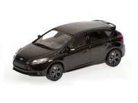 MODELLINO FORD FOCUS ST 2011 NERO METALLIZZATO IN METALLO MINICHAMPS