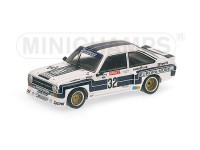 MODELLINO FORD ESCORT II RS 1800 SUPERSPRINT VINCITORE DRM NUERBURGRING 1976 IN METALLO MINICHAMPS