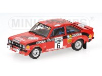 MODELLINO FORD ESCORT II RS 1800 COSSACK VINCITORE RAC RALLY 1976 IN METALLO MINICHAMPS