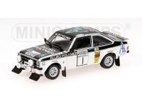 MODEL FORD ESCORT II RS 1800 ALLIED POLYMER WINNER RAC RALLY 1975 IN METAL MINICHAMPS