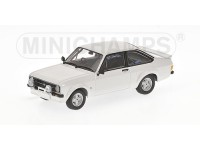 MODELLINO 1/43 FORD ESCORT II RS 1800 BIANCA DA RALLY IN METALLO MINICHAMPS