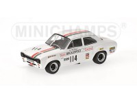 MODELLINO FORD ESCORT I 1600 TC VINCITORE BRANDS HATCH 1971 IN METALLO MINICHAMPS