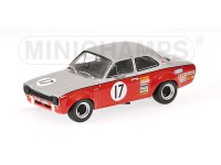 MODELLINO FORD ESCORT I TC TEAM BROADSPEED RAC TT SILVERSTONE 1970 IN METALLO MINICHAMPS