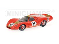 MODELLINO FORD P68 F3L ALAN MANN RACING 1000KM NURBURGRING IN METALLO MINICHAMPS