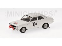 MODELLINO FORD ESCORT I TC VINCITORE RALLY SAN REMO 1968 IN METALLO MINICHAMPS