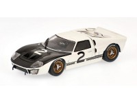 MODELLINO FORD GT40 MKII TEST 24H LE MANS 1966 IN METALLO MINICHAMPS
