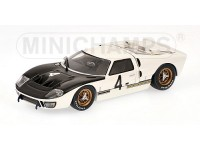 MODELLINO FORD GT40 MKII GARDNER 1000 KM SPA 1966 IN METALLO MINICHAMPS
