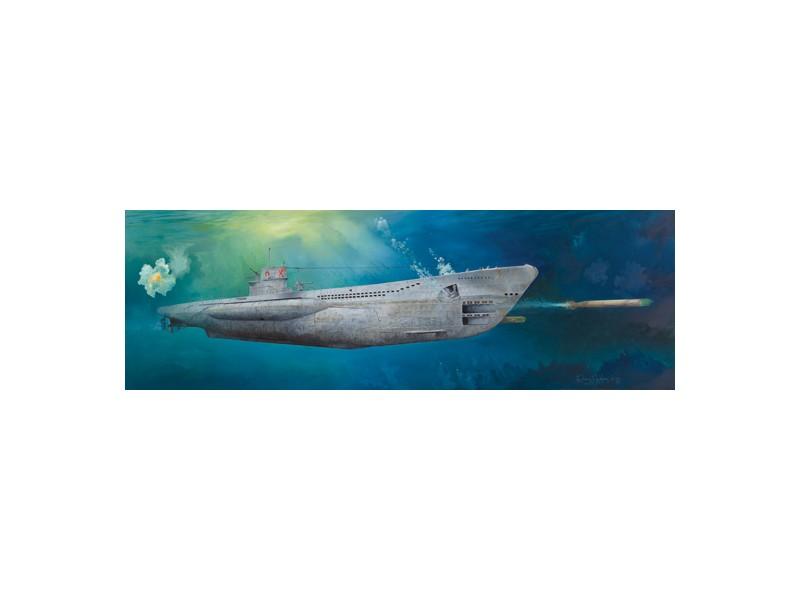 SCATOLA DI MONTAGGIO SOTTOMARINO DKM U-BOAT TYPE VIIC U-552 TRUMPETER