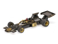 MODELLINO LOTUS FORD 72 EMERSON FITTIPALDI WINNER ITALIAN GP F1 1972 IN METALLO MINICHAMPS
