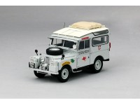 MODELLINO LAND ROVER 1955 SERIES I OXFORD & CAMBRIDGE FAR EASTER EXPEDITION OXFORD GRIGIO IN RESINA TSM