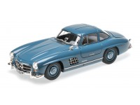 MINICHAMPS MODELLINO AUTO MERCEDES BENZ 300 SL W198 I 1954 LIGHT BLUE