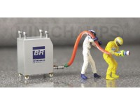 FIGURE 1/43 PIT STOP WILLIAMS RIFORNIMENTO IN RESINA MINICHAMPS