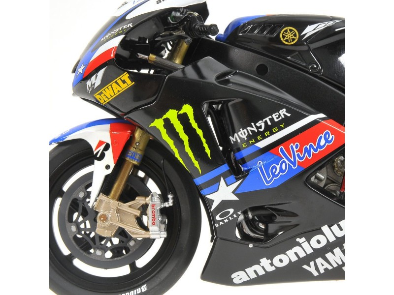 modellino minichamps moto 1 12 yamaha yzr m1 ben spies motogp. Black Bedroom Furniture Sets. Home Design Ideas