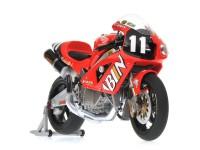 MINICHAMPS MODELLINO MOTO 1:12 HONDA VTR 1000 V. ROSSI WINNER 8H SUZUKA 2001