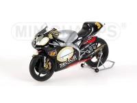 MINICHAMPS MODELLINO MOTO APRILIA RSV250 MS MARCO MELANDRI WORLD CHAMPION GP 2002 1/12