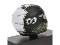 MINICHAMPS MODELLINO 1:8 CASCO HELMET AGV ROSSI MOTEGI 2008 WORLD CHAMPION MOTOGP
