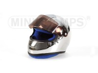 MINICHAMPS MODELLINO CASCO HELMET F1 CHROMED 1/2