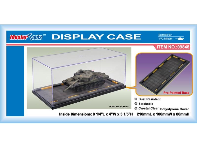 VETRINA IN PLASTICA PER MODELLISMO 210x100x80 mm TRUMPETER