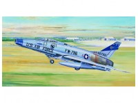 MODELLINO AEREO F-100D FIGHTER IN KIT 1/32 TRUMPETER