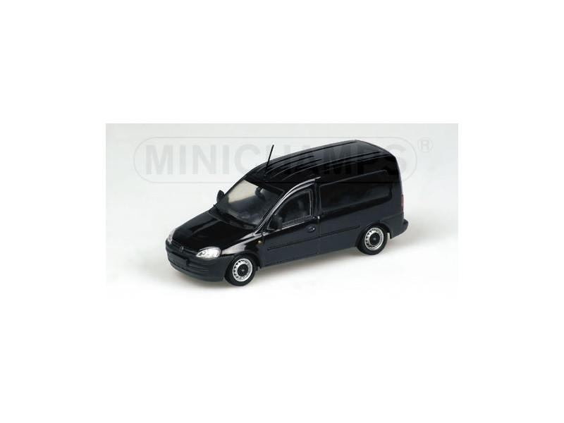 Minichamps 400042001 Modellino Opel Combo Tour 2002 Nero Auto Stradali Scala 1:43