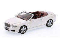 MODELLINO 1/18 BENTLEY CONTINENTAL GTC BIANCA IN METALLO MINICHAMPS