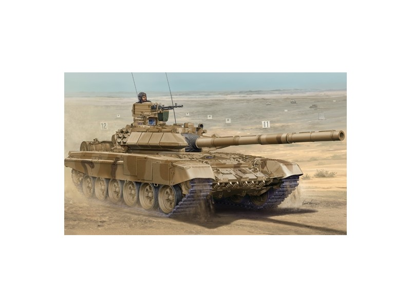 MODELLISMO MILITARE TRUMPETER RUSSIAN T-90 A MBT CAST TURRET KIT MONTAGGIO 1//35