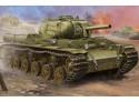 MODELLISMO MILITARE TRUMPETER SOVIET KV-8S HEAVY TANK KIT MONTAGGIO 1/35