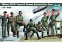 MODELLISMO MILITARE TRUMPETER LEOPOLD GUN CREW KIT MONTAGGIO 1/35
