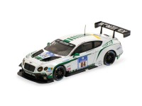 MODELLINO BENTLEY GT3 84 ADAC 24H NURBURGRING 2015 IN METALLO ALMOST REAL