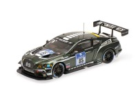 MODELLINO BENTLEY GT3 N.85 ADAC 24H NURBURGRING 2015 IN METALLO ALMOST REAL