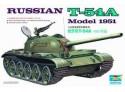 MODELLISMO MILITARE TRUMPETER RUSSIAN T-54A KIT MONTAGGIO 1/35