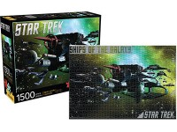 AQUARIUS ENT PUZZLE STAR TREK SHIPS OF THE GALAXY