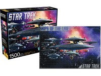 AQUARIUS ENT PUZZLE STAR TREK SHIPS OF THE LINE