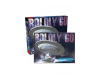 AQUARIUS ENT PUZZLE STAR TREK NEXT GENERATION BOLDLY GO