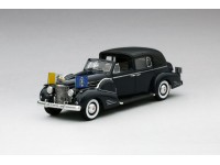MODEL CADILLAC SERIES 90 V16 PAPAMOBILE PAPA PACELLI PIO XII 1938 IN RESIN TSM