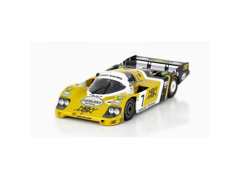 MODELLINO PORSCHE 956 n.7 NEWMAN JOEST RACING VINCITORE 24 ORE LE MANS 1984 IN RESINA TSM