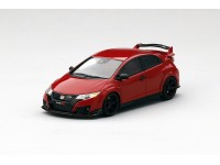 MODELLINO HONDA CIVIC TYPE R 2015 MILANO RED SOLID IN RESINA TSM