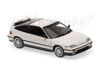 MODELLINO HONDA CR-X COUPE' 1989 BIANCA IN METALLO MINICHAMPS