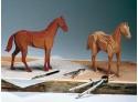 Amati Cavallo da corsa scatola di montaggio in legno
