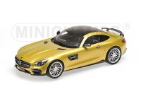 MODELLINO 1/18 BRABUS 600 COLOR ORO 2016 IN RESINA MINICHAMPS