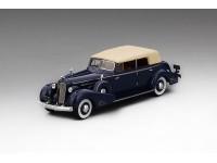 MODEL CADILLAC V16 CONVERTIBLE SEDAN FLEETWOOD 1934 DARK BLUE TSM MODEL