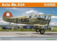 Avia Bk.534 1/72 aereo in kit Eduard