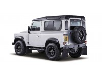 MODELLINO LAND ROVER DEFENDER 90 ARGENTO 2015 ALMOST REAL