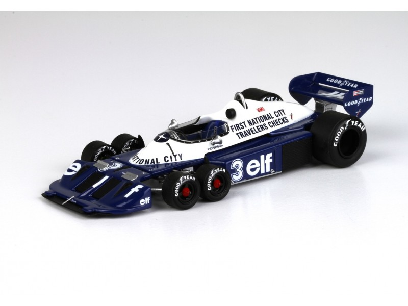 KIT TYRRELL FORD P34-2 N.3 GP GIAPPONE 1977 BBR MODELS