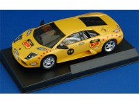"Lamborghini Murcielago ""Players Run"" n.7 Gialla Modellino Slot Car MRRC"