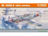 Bf 109G-6 late series Aereo in Kit Eduard Profipack Edition