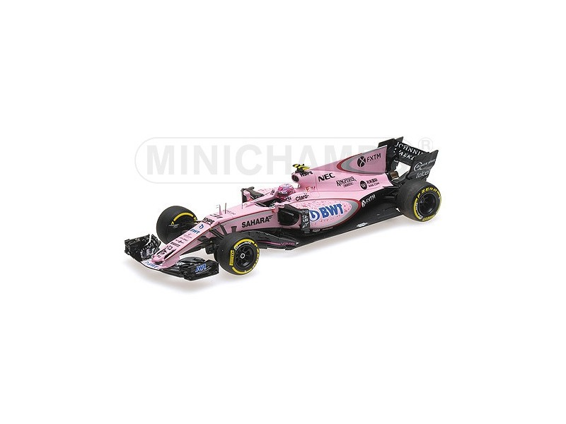 MODELLINO SAHARA FORCE INDIA VJM10 E. OCON GP AUSTRALIA 2017 MINICHAMPS